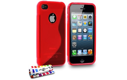 "Aperçu 0: Coque ""Le S"" APPLE IPHONE 5 Rouge"