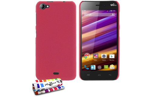 "Aperçu 0: Coque rigide ""Le Pearls"" WIKO JIMMY Rose bonbon"