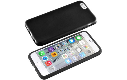 Aperçu 2: Etui avec Rabat Jelly Glass APPLE IPHONE 6 PLUS Noir