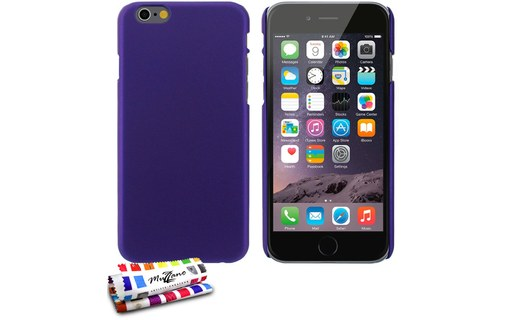 "Aperçu 0: Coque rigide ""Le Pearls"" APPLE IPHONE 6 4.7 POUCES Violet"